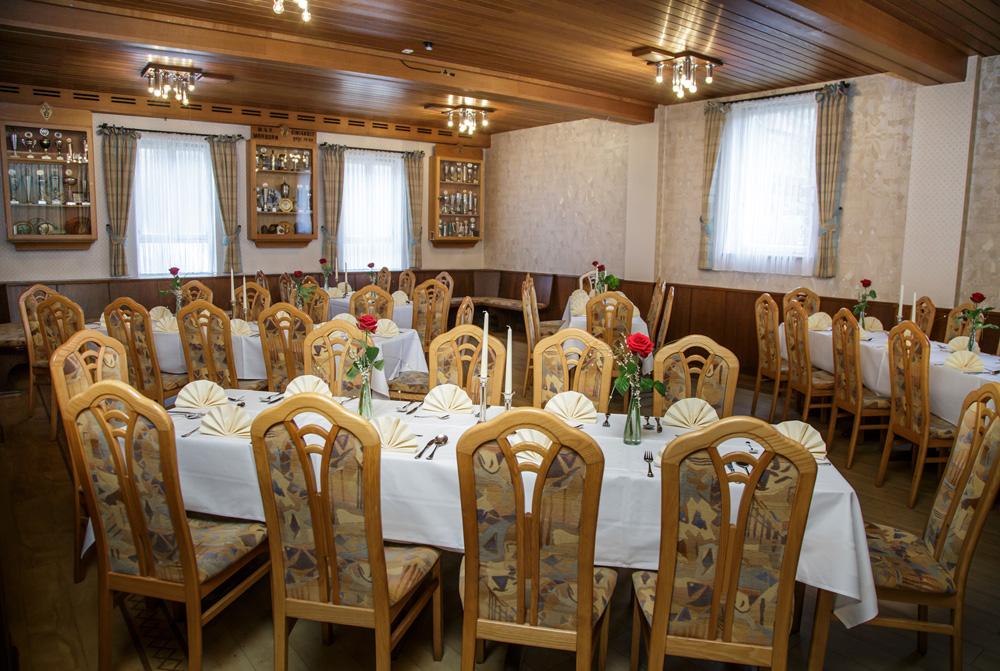 Das Restaurant Bayrischer Hof